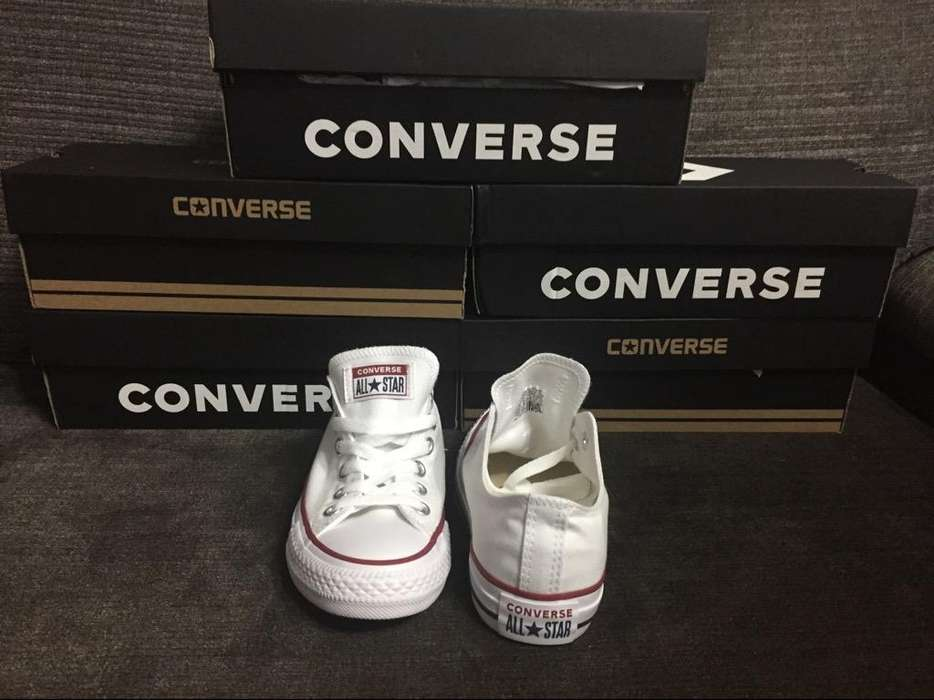 Zapatillas Converse Nuevas Blancas