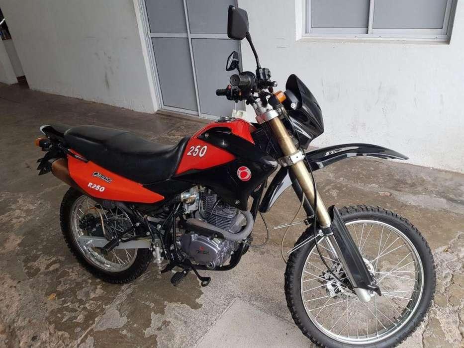 OKINOI 250cc ENDURO 2015 IMPECABLE 4500 km