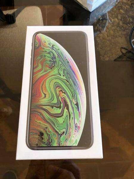 IPhone Xs Max de 256gb, space gray, nuevos sellados