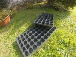 Bandeja de siembra propagadora, germinadora 50 celdas