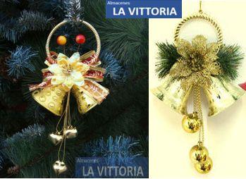 Campanas Navideñas para Decoración Magnificas y Elegantes