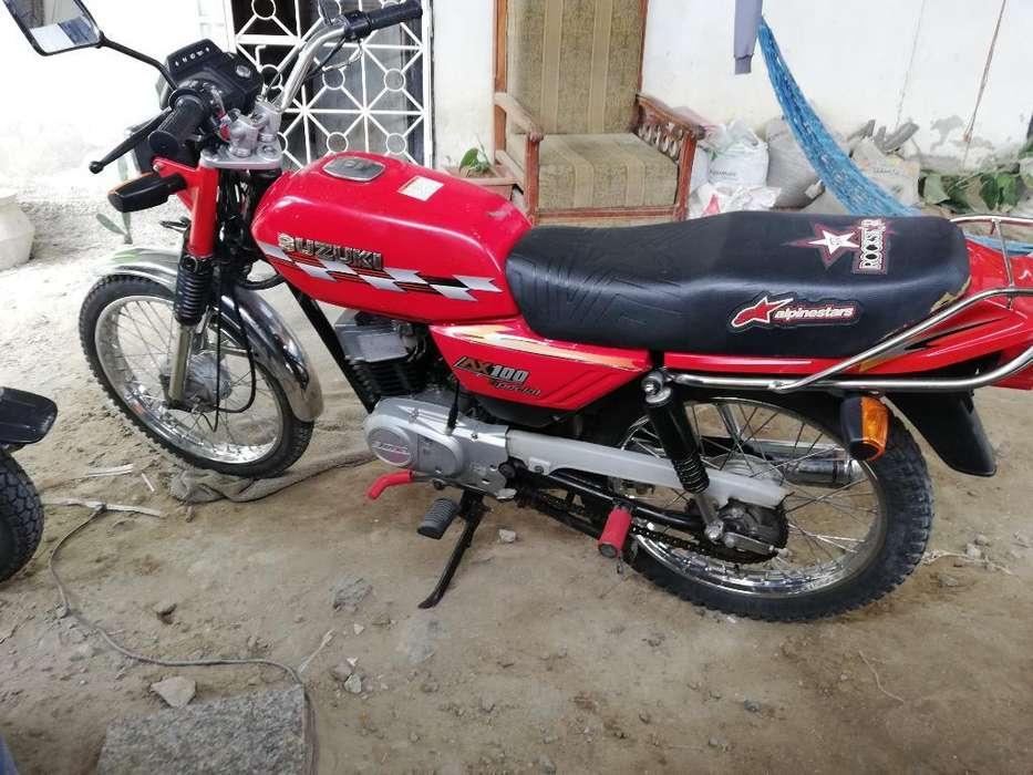 Susuki Ax100 Roja