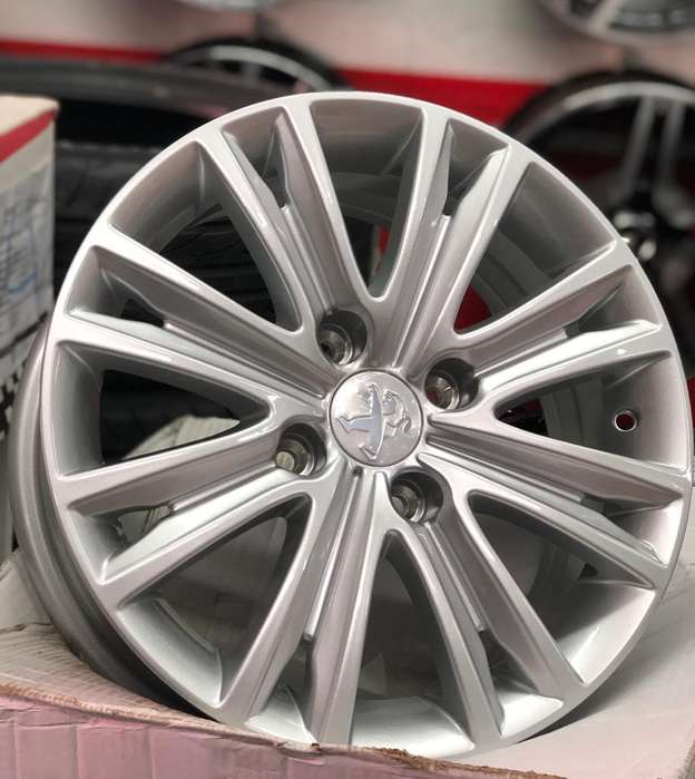 Rines de Lujo Rin 15 Peugeot Nuevos