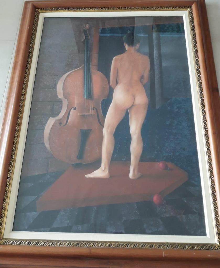 Cuadro Mujer Desnuda Medellín