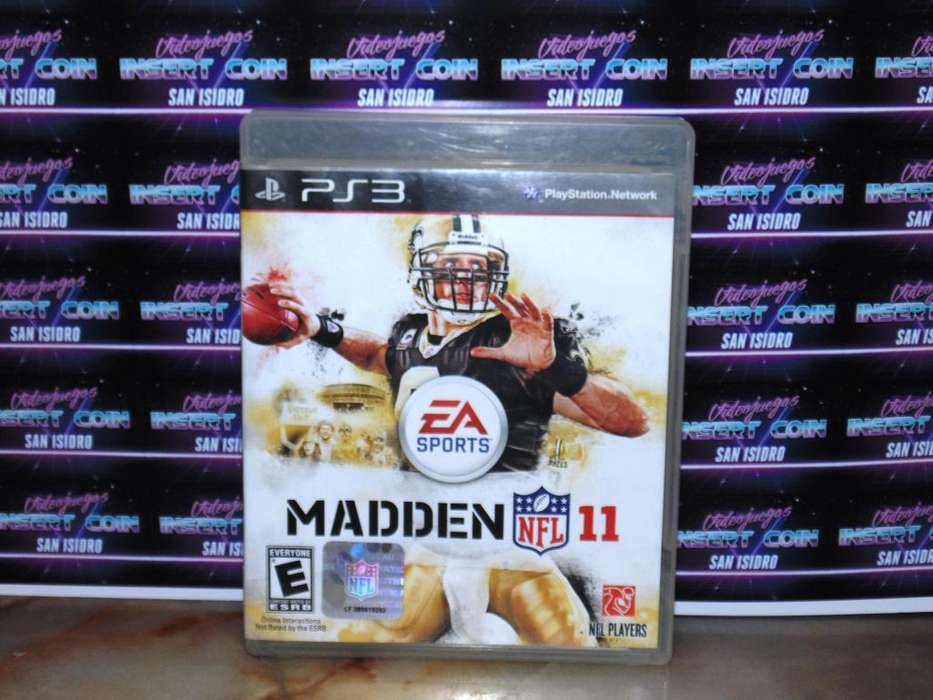 Madden 11 Futbol Americano PS3 Juego Play Station 3