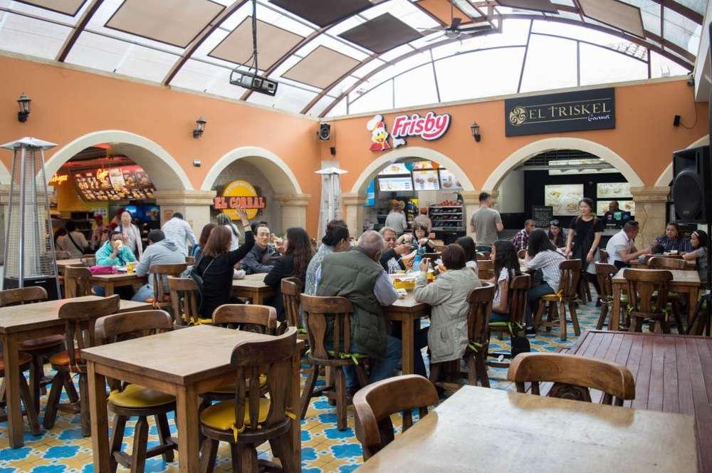 Restaurante en zona turística de Zipaquirá