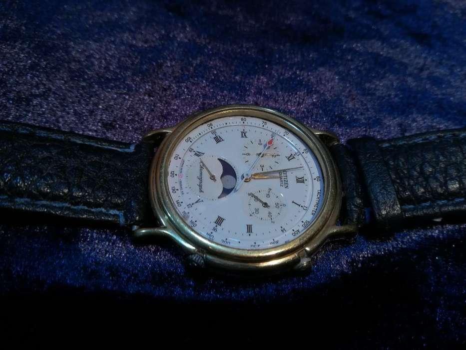 Reloj Citizen Cronógrafo Fases Lunares