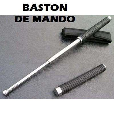 BASTON DE MANDO POLICE