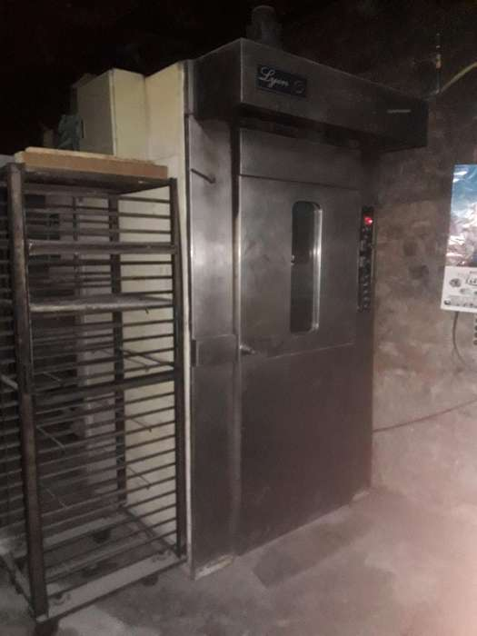 Horno Rotatorio Max1500-operativo 100%