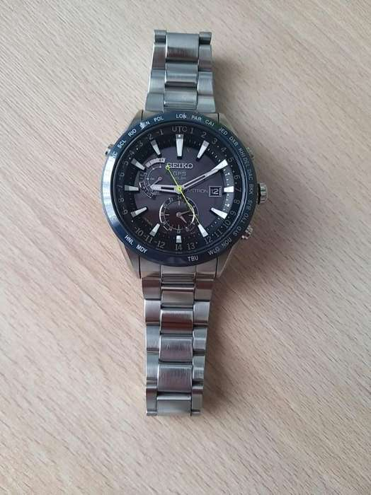 Reloj Seiko Solar Gps
