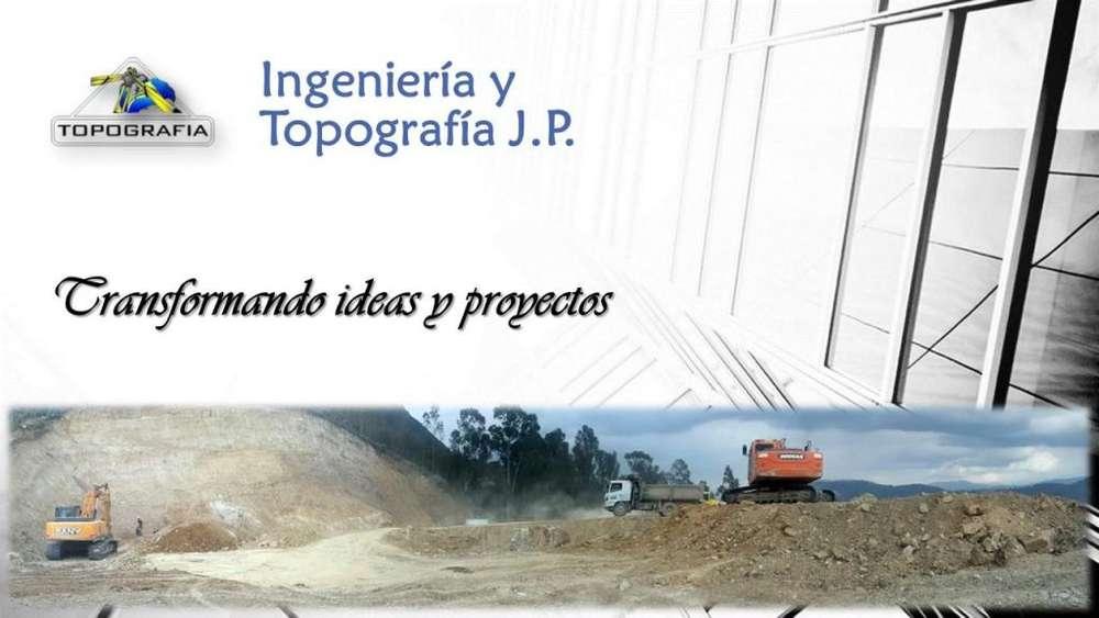 TOPÓGRAFO. SERVICIOS DE TOPOGRAFÍA. LEVANTAMIENTOS TOPOGRÁFICOS.