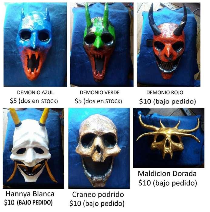 Mascaras aterradoras