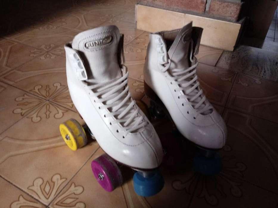 Patin Artistico N 32 bota Junior