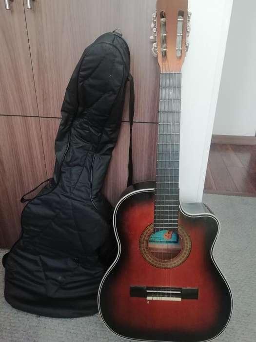 Se Vende Guitarra con Estuche