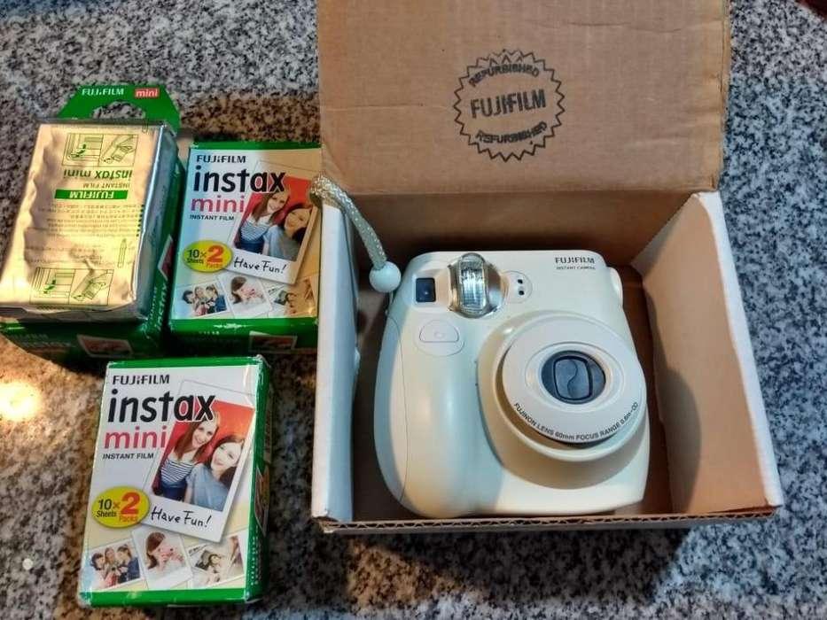 Camara Instantanea Fujifilm Instax mini 7s 50 fotos