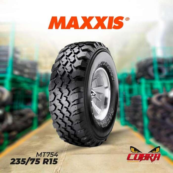 <strong>llantas</strong> 235/75 R15 MAXXIS MT754