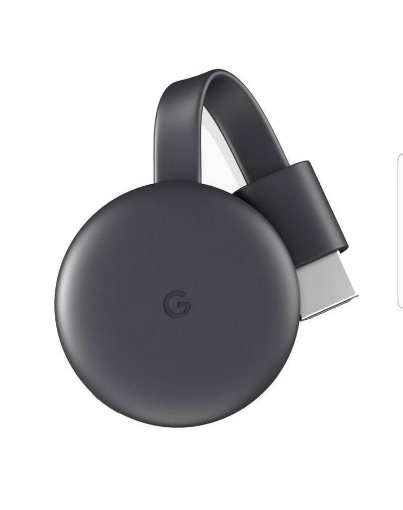Google Chromecast 3 2018 Smart Tv Negro