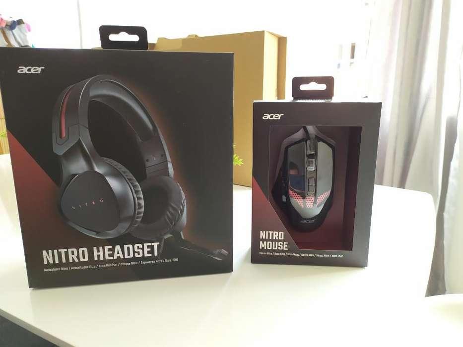 Combo Auricular-mouse Gamer Nitro 5