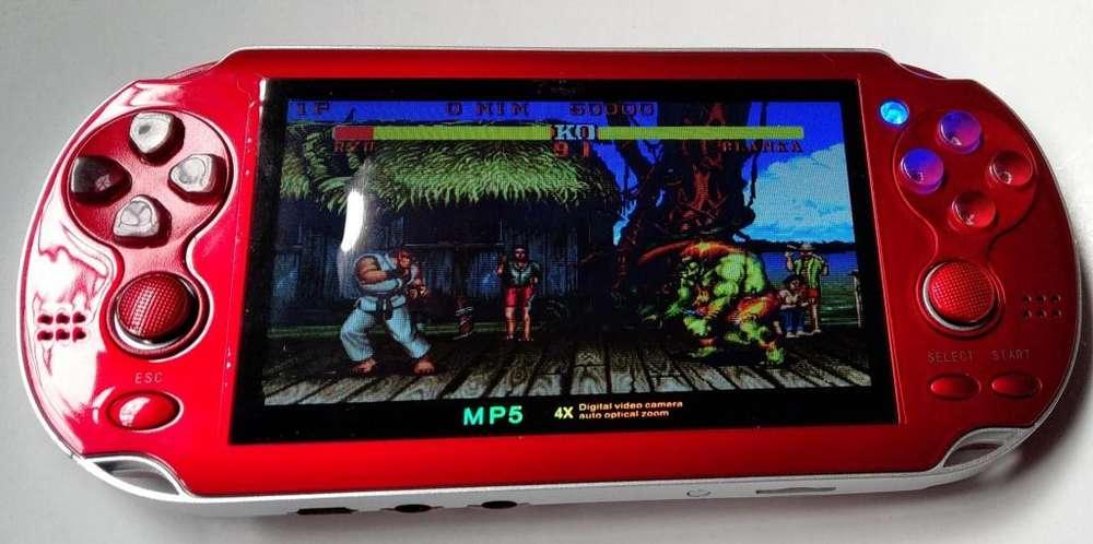 Mp5 Portatil Nes Game Boy Salida Tv/camara/graba Voz/videos. Nuevo en Caja!!!