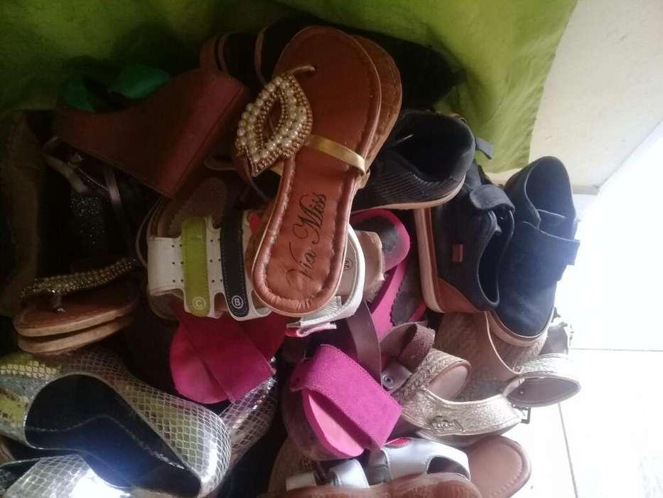 Zapatos Talles 38 Y 29 Tres Pares X 350