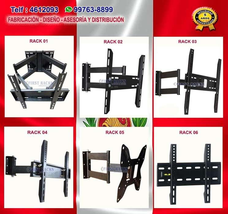 rack tv .. variedad de modelos, movil, fijo, techo, SOMOS FABRICANTES...NO CHINO