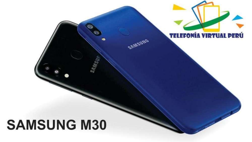 SAMSUNG M30 64GB/4RAM SOMOS TELEFONIA VIRTUAL PERU