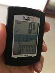 GPS CatEye STEALTH 10 CON SENSOR DE VELOCIDAD Y CADENCIA NUEVO!!!