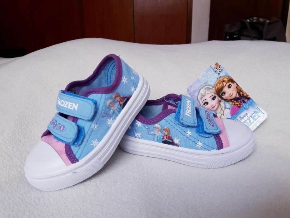 Zapatillas Frozen Disney Talla 20