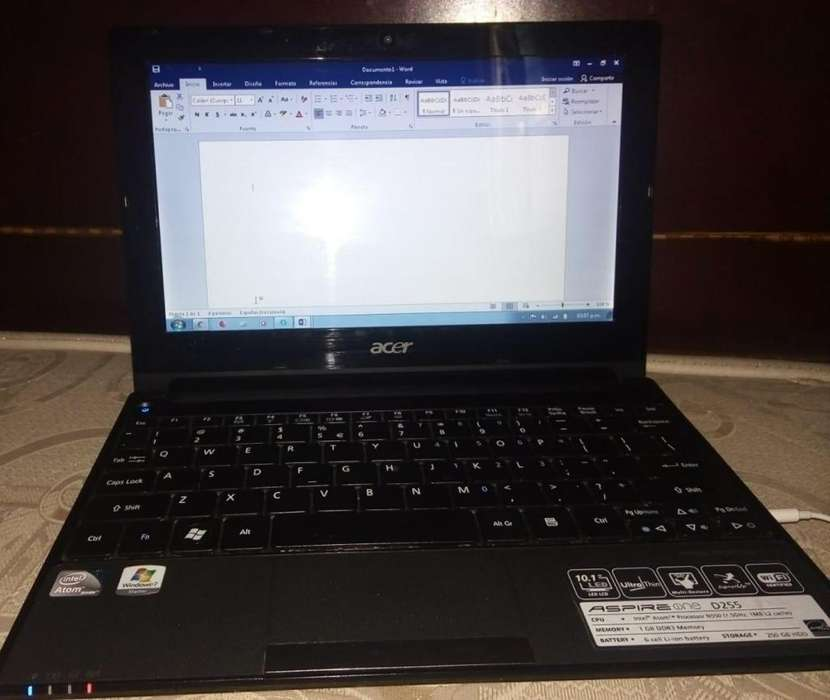 Miniportatil Acer Aspire one