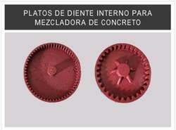 Repuestos para Mezcladoras de Concreto.
