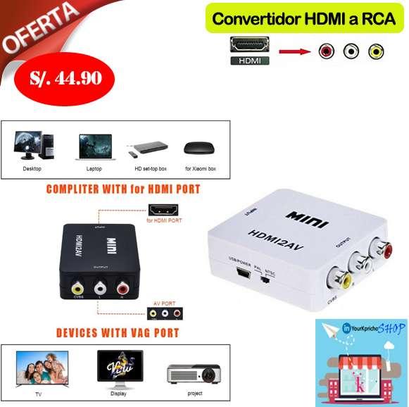 Convertidor de HDMI a RCA