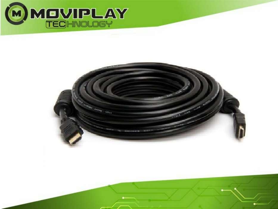 CABLE HDMI 5 / 10 / 20 METROS / REFORZADO 3D 4K FULL HD