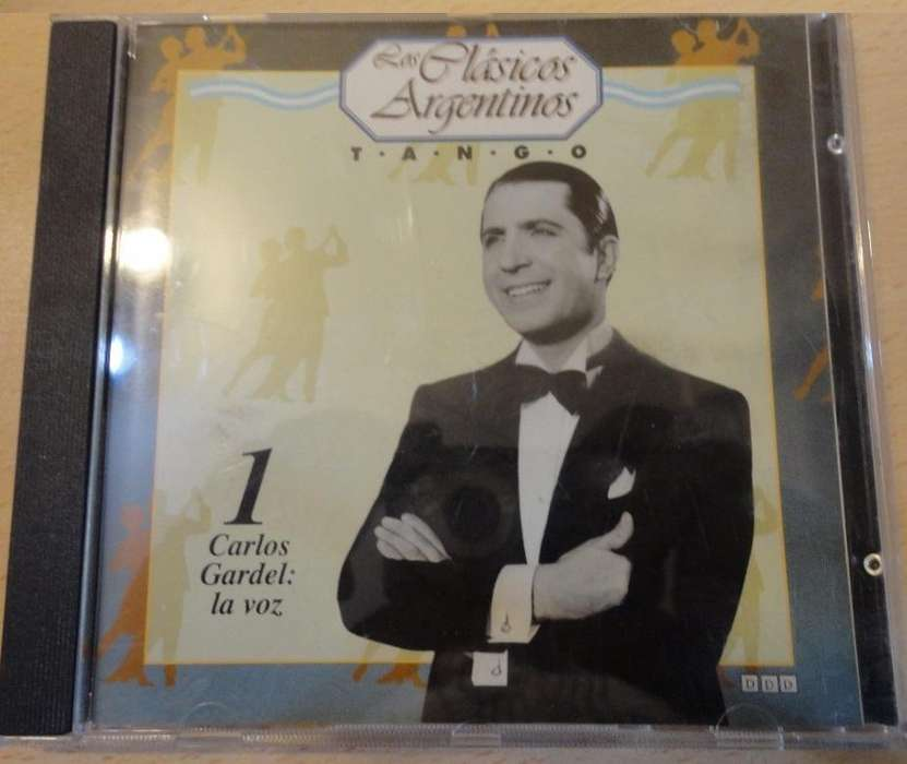 Cd Clasicos Argentinostango Carlos Gardel1996