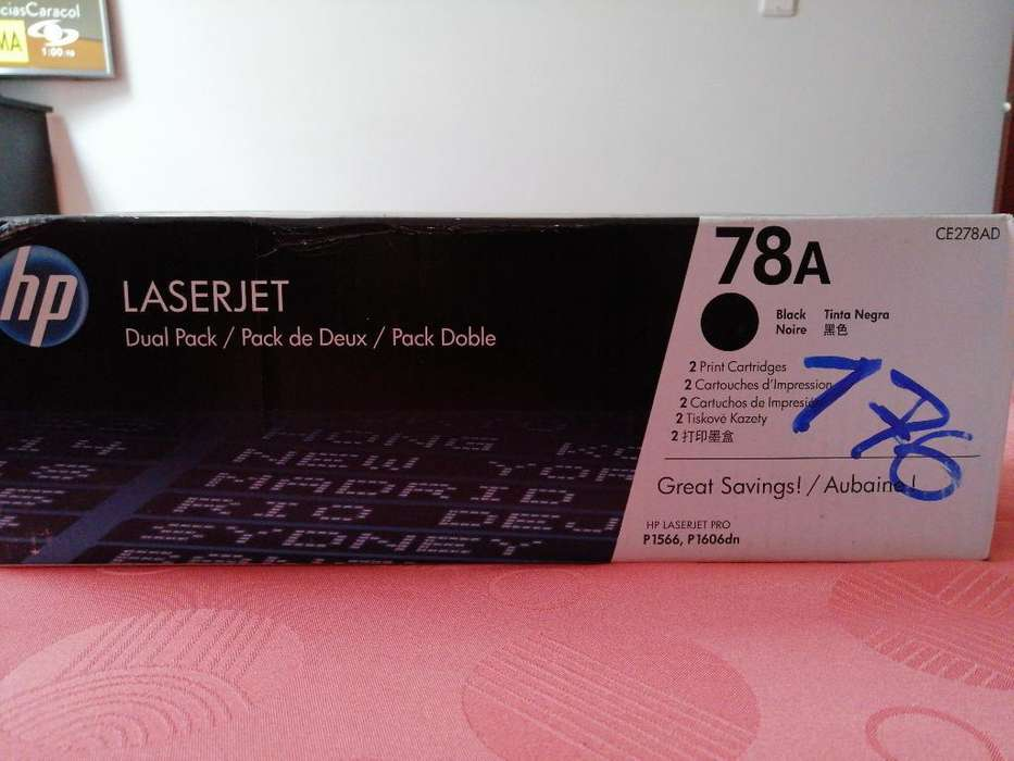 Toner Hp 78a Ce278a Original