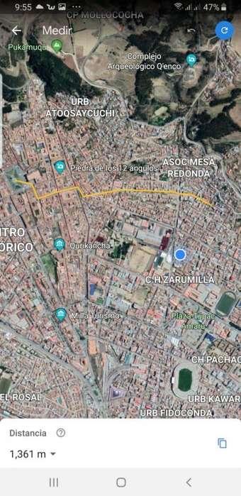 Vendo Casa como terreno zona céntrica Cusco, a 15 minutos a pie de Plaza de Armas