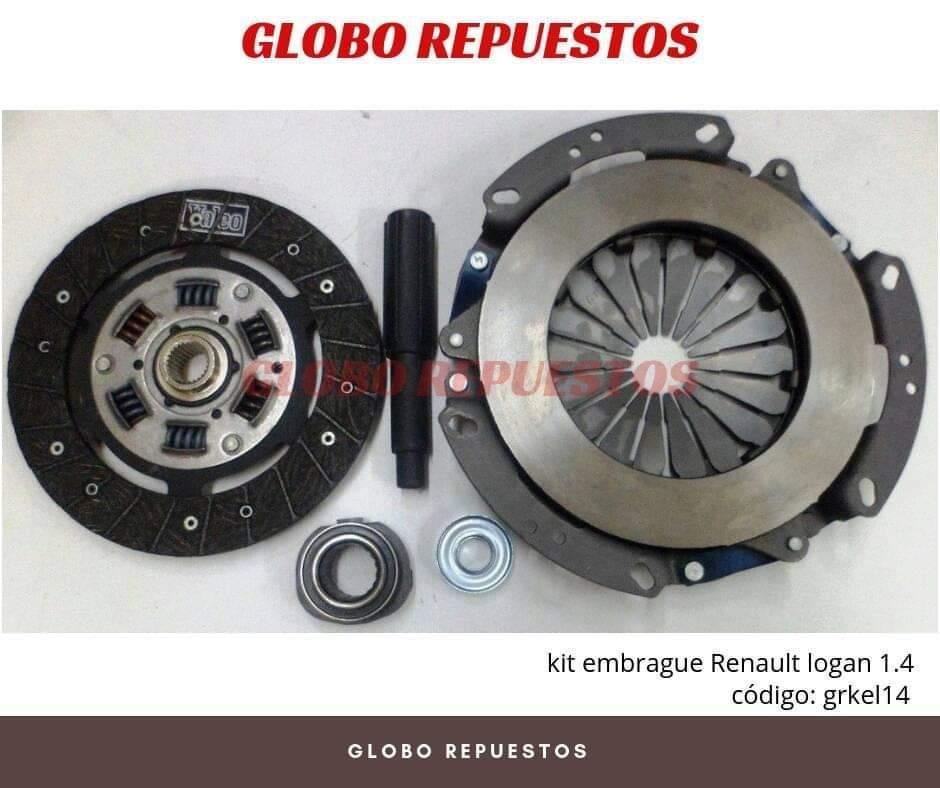 REPUESTOS RENAULT LOGAN 1.6 SANDERO KIT DE EMBRAGUE MACHALA MANTA GUAYAS QUITO CUENCA 0990962596