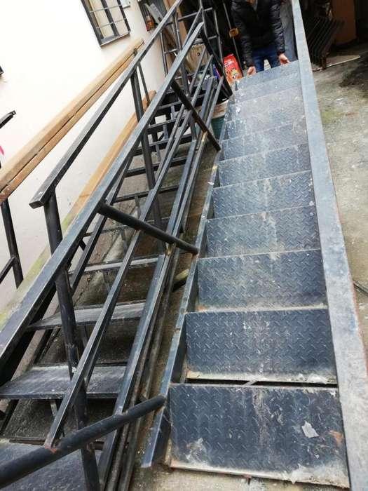 Escaleras Metálicas Exteriores