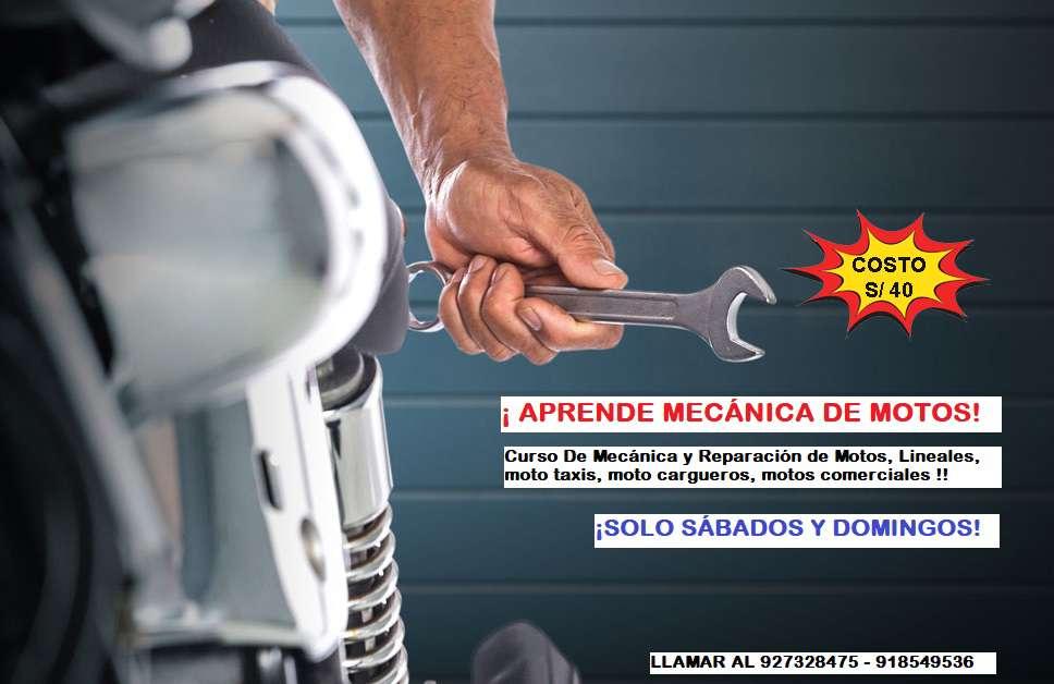APRENDE MECÁNICA DE MOTOS!