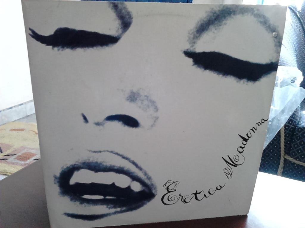 ALBUM EROTICA  X 2 vinyls // MADONNA 1992