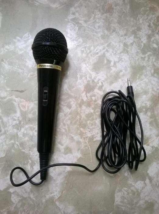 Micrófono Panasonic para <strong>karaoke</strong>