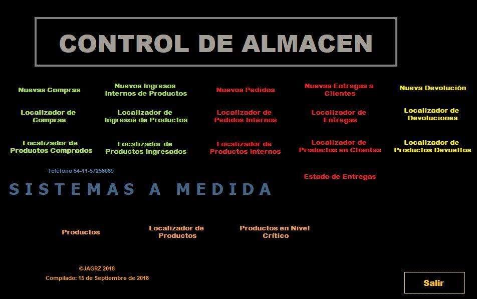 Software para Control de Almacén GRATIS