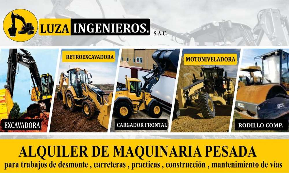 ALQUILER DE MAQUINARIA PESADA