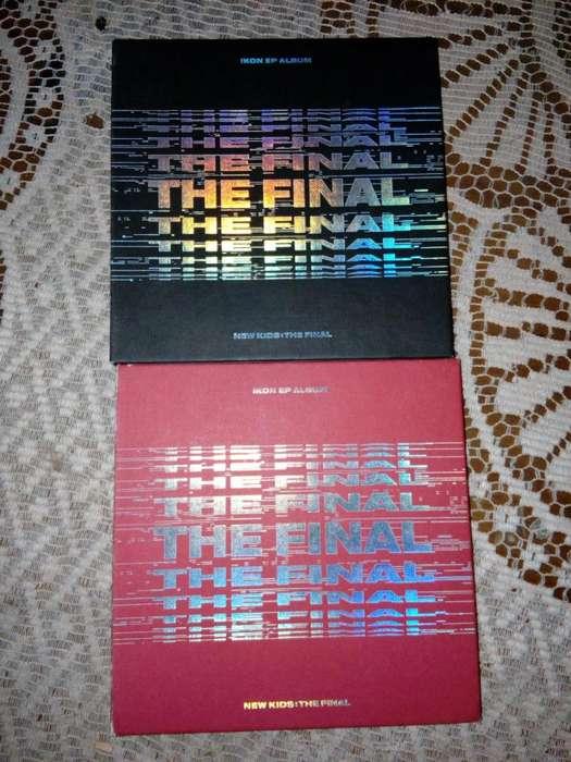ALBUM NEW KIDS: THE FINAL DE iKON