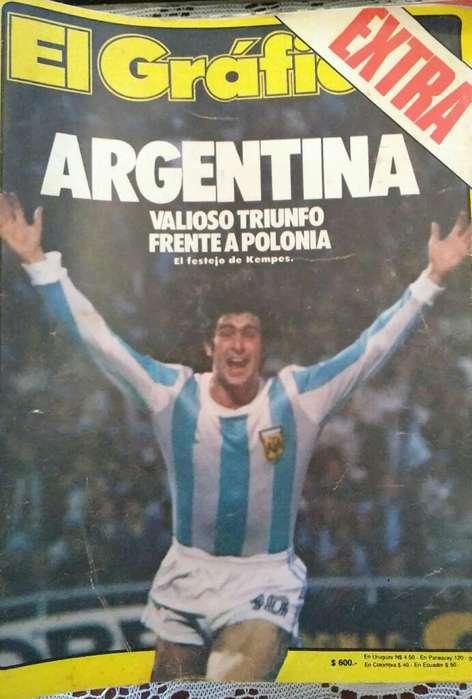 Revistas El Grafico Años '60 '78
