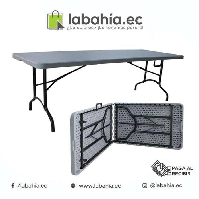 Mesa plegable portátil Ideal Para Ferias, Eventos Patio