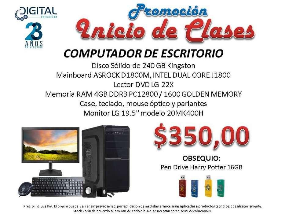 COMPUTADOR DE ESCRITORIO ARMADO CON OBSEQUIO