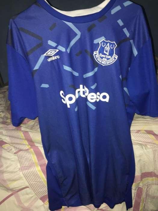Camiseta Del Everton