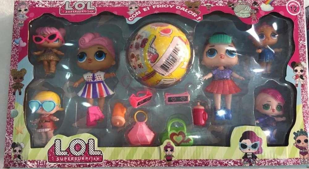 Bolas Lol sorpresa con muñecas y accesorios