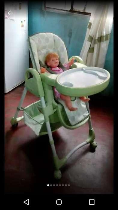 Silla de Bebes Regulable Usada