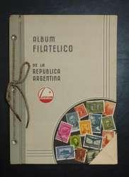 Album de Estampillas Argentinas